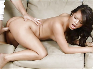Lascivious cutie plays with ramrod after getting it inside of vagina