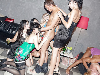 These lecherous college hotties haven't had sex for a whilst, so they decided to acquire together for a steamy college sex party with fashionable guys. From the very begin it's obvious that the party's going to be a real blast! The sexually slutty students begin with...