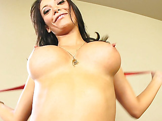 Malezia has a bewitching heart shaped a-hole that just looks great when u're fucking her from behind.  Those firm booty cheeks are heaven to look at as that babe lowers her pussy onto a awaiting dong.  Those sexually excited Latin whore takes a large load of cum on her mounds and taut tummy.