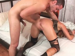 The honey could get meaty orgasms solely from anal fucking
