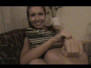 Nasty legal age teenager lady acquiesces to endure sex by the table with pleasure