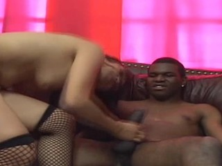 Gorgeous bitch is fucked in asshole after giving fine blow
